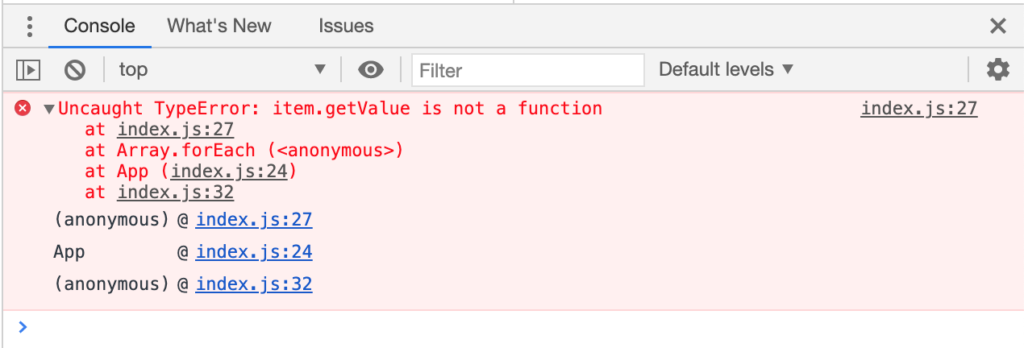 The infamous red error message that keeps popping up every now and then during development — and sometimes even in production